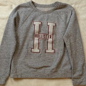 Hollister crew neck sweatshirt women's size S